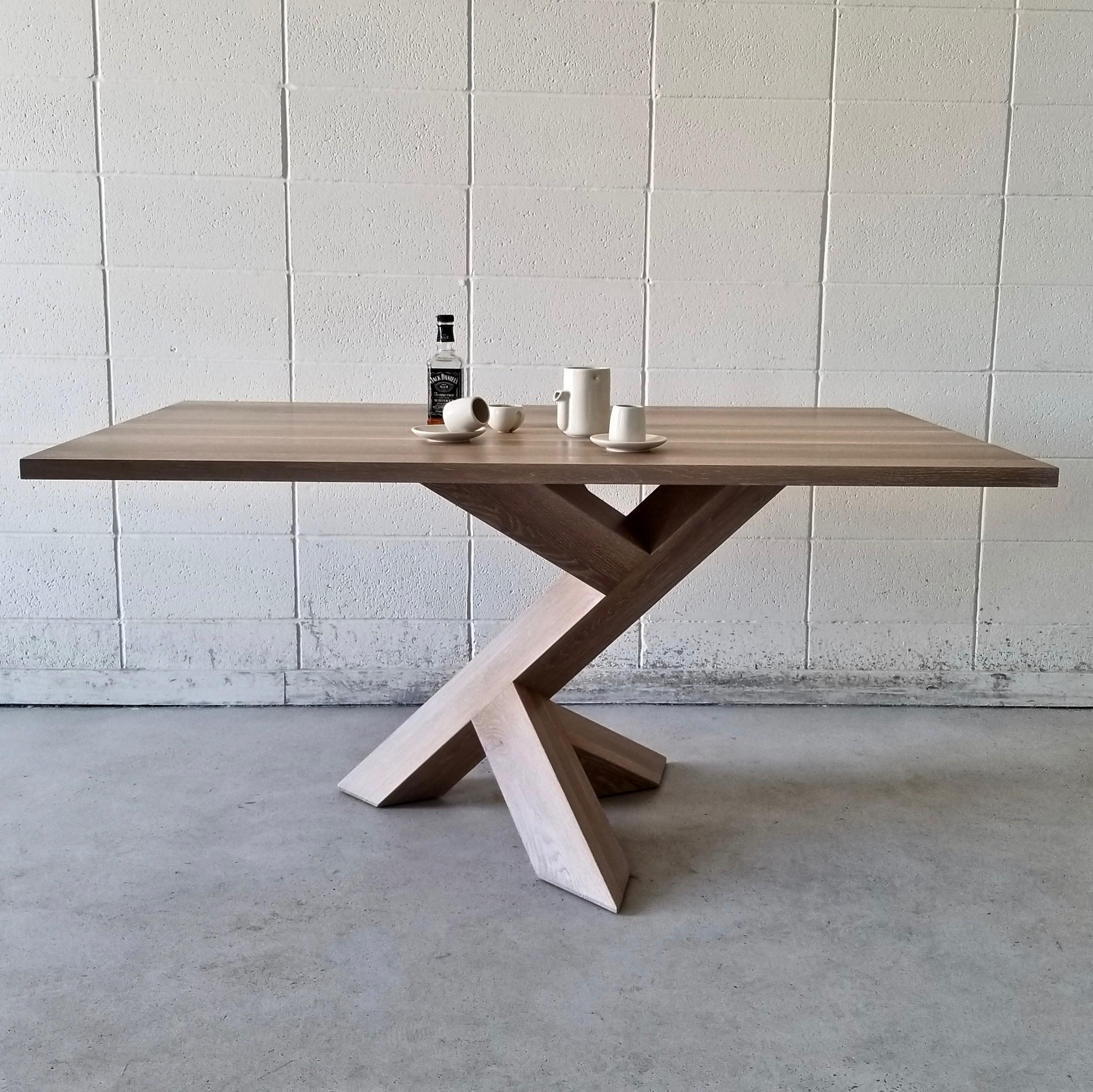 Iconoclast-Square Single-Leg Table